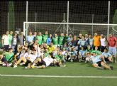Un total de 19 equipos participaron en las 12 horas de futbol-7