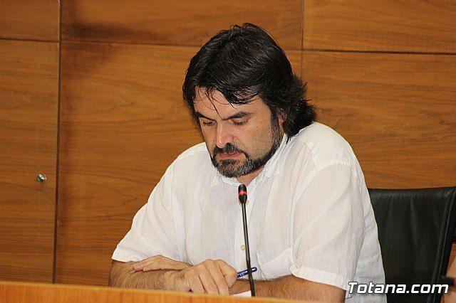 Statements by José Gómez (PSOE) to leave his position as councilman
