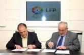 Los presidentes de la UCAM y la LFP firman un convenio de colaboración en materia de formación