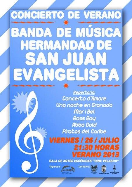 "Summer Concert in the Performing Arts Center ""Cinema Velasco"" Totana"
