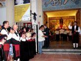 Los gaiteros acercaron  aún más el recuerdo de Galicia en Santiago de la Ribera en el día de su Patrón