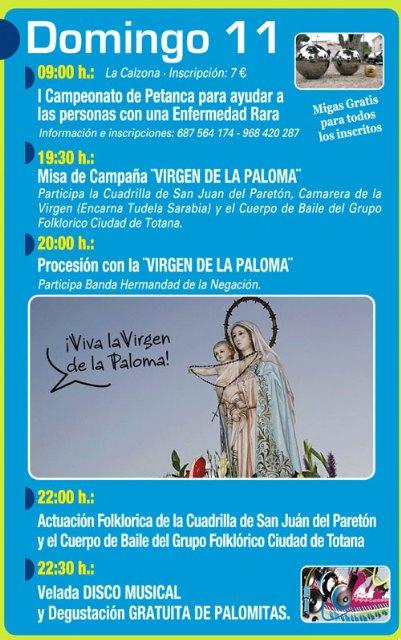 Las fiestas de la paloma solidarias con D´genes y AELIP - 4, Foto 4