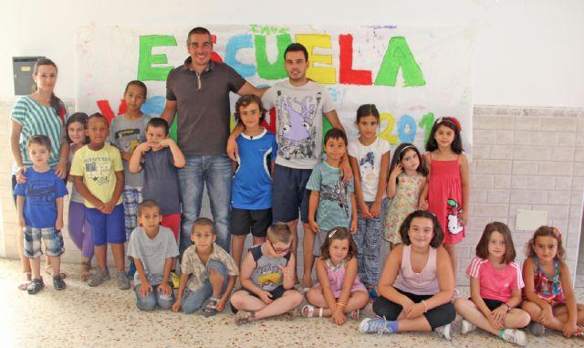La Escuela de Verano de Puerto Lumbreras ofrece refuerzo educativo y actividades de ocio para los más pequeños durante los meses estivales - 2, Foto 2