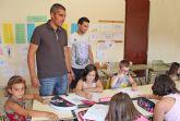 La Escuela de Verano de Puerto Lumbreras ofrece refuerzo educativo y actividades de ocio para los más pequeños durante los meses estivales