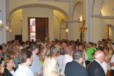 Mons. Lorca Planes bendice la Iglesia de Ntra. Sra. de la Encarnación de La Raya