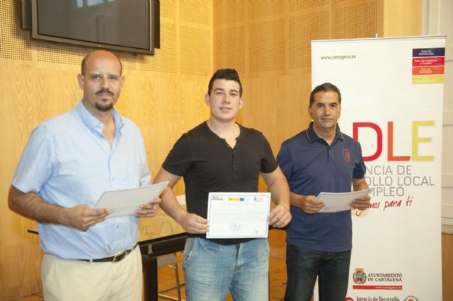 Jóvenes cartageneros retoman sus estudios gracias a los PCPI impartidos por la ADLE - 1, Foto 1