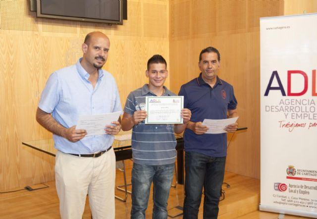 Jóvenes cartageneros retoman sus estudios gracias a los PCPI impartidos por la ADLE - 2, Foto 2