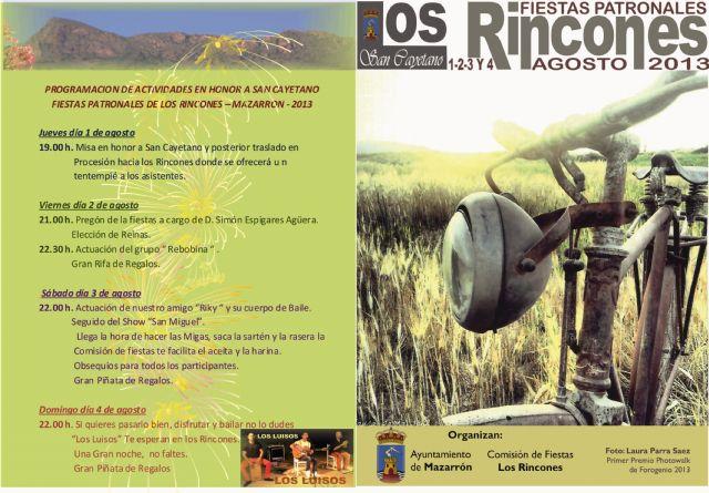 Los Rincones rinden honores a San Cayetano del 1 al 4 de agosto - 2, Foto 2
