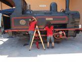 La ciudad recupera una de las primeras locomotoras de vía estrecha que circularon en España en 1867