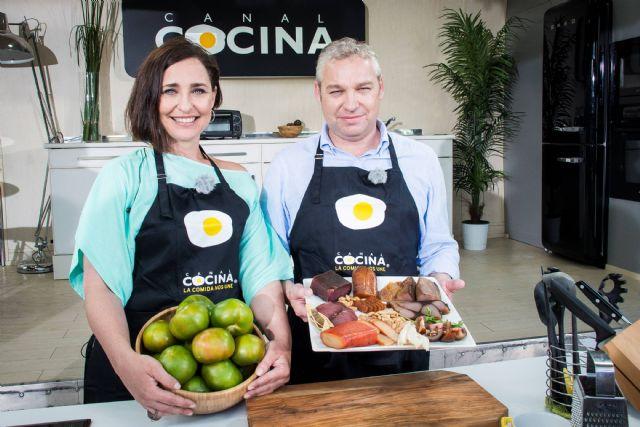 El alcalde de Mazarrón de se pone el delantal de Canal Cocina - 1, Foto 1