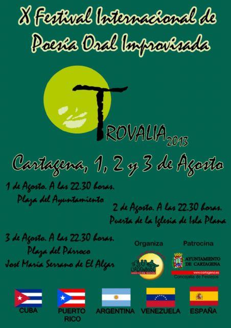 La improvisación poética de Cuba, Puerto Rico, Argentina, Venezuela y España se cuela en Trovalia 2013 - 1, Foto 1