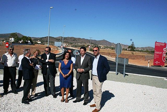 La Comunidad mejora la seguridad vial de la carretera que une las poblaciones cartageneras de Cuesta Blanca y Los Ruices - 1, Foto 1