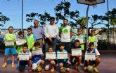 Una veintena de niños han participado en la IV edición de la Escuela de Verano de Fútbol Sala