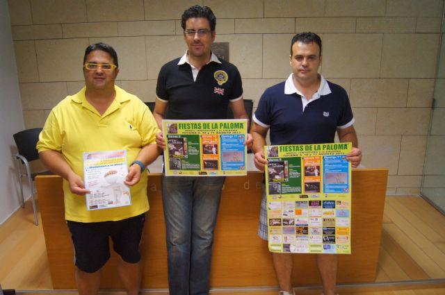 Las fiestas de La Paloma en Mort�, Lentiscosa y la Calzona se celebrar�n del 9 al 11 de agosto con un amplio programa de actividades, Foto 1