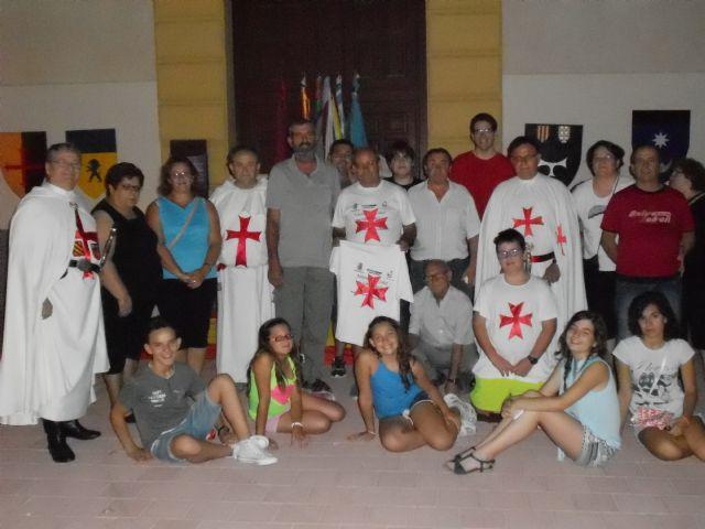 Jumilla: en la noche mágica de la Guardia Templaria a la Virgen - 1, Foto 1
