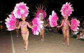 El Carnaval de Verano volvió a llenar de fiesta y fantasía el paseo marítimo de Santiago de la Ribera