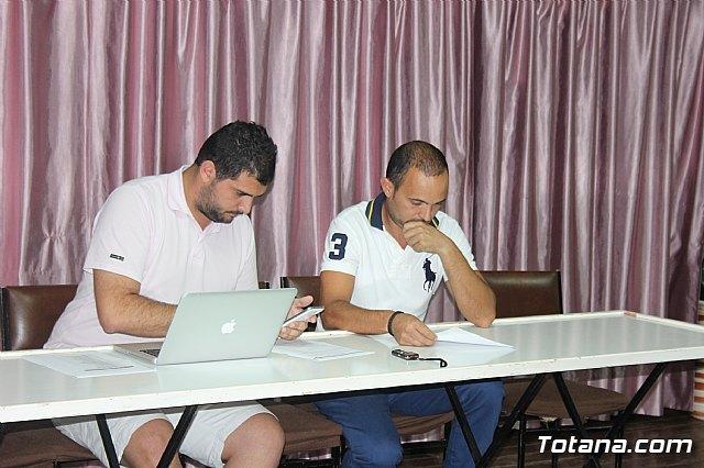 Juan Antonio Morales Rosa, nuevo presidente del Club Olímpico de Totana - 1