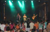 El grupo gaditano DECAI ofreció un concierto en Puerto Lumbreras ante cerca de un millar de personas