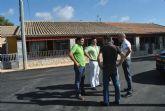 Las Casas del Guardia cuentan, por primera vez, con servicio municipal de saneamiento