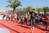 Pequeños y mayores disfrutan del 'Road Show' de la selección española de baloncesto