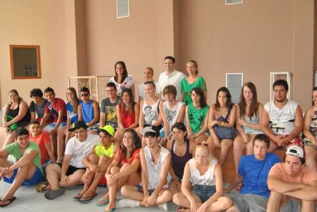Los jóvenes de intercambio europeo Juventud en Acción disfrutan hoy de un día de actividades en San Javier - 1, Foto 1