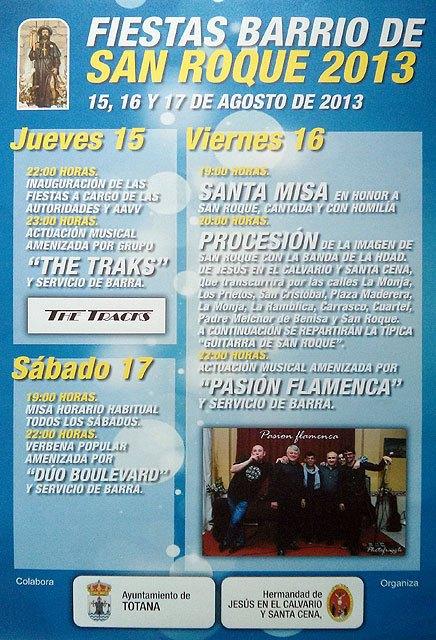 Programa de fiestas del barrio de San Roque 2013, Foto 2