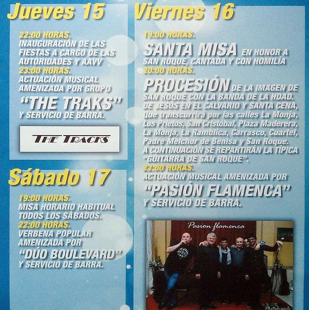 Programa de fiestas del barrio de San Roque 2013, Foto 3