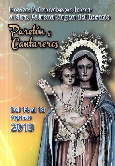 Las fiestas de El Paret�n-Cantareros arrancan este mi�rcoles con un amplio programa de actividades para todos los p�blicos, Foto 1
