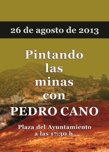 Pintando las minas con Pedro Cano, Foto 2