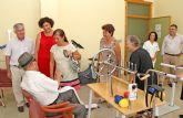 La consejera de Sanidad y Política Social visita el Centro de Día para personas Mayores de Puerto Lumbreras que funciona a pleno rendimiento