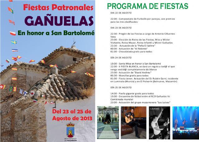 Gañuelas celebra sus fiestas de San Bartolomé del 22 al 25 de agosto, Foto 2