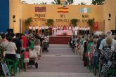 Más de un millar de fieles siguen la misa del Cristo del Mar Menor en Lo Pagán