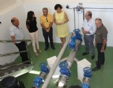 La pedanía de La Estación mejorará la calidad de sus aguas reutilizadas que serán tratadas en la depuradora de Puerto Lumbreras