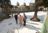 El buen ritmo de las obras de la Plaza San Francisco permitirá su finalización en noviembre