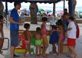 Medio Ambiente programa actividades informativas y juegos en la playa para fomentar el reciclaje