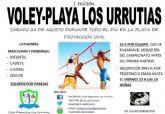 El voley playa también se juega este verano en Los Urrutias