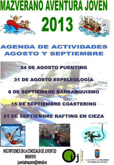 Nuevas actividades para los jóvenes durante agosto y septiembre, Foto 2