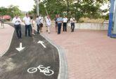 Los vecinos de Torreciega ya disfrutan de la renovada imagen de la avenida Tito Didio