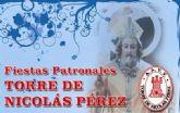 La Torre de Nicolás Pérez celebra a su patrón este fin de semana