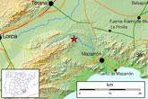 Un terremoto de 2,9 º con epicentro en Mazarrón se deja sentir en Totana