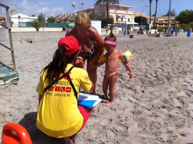 Excelente acogida de las pulseras identificativas en playas - 1, Foto 1