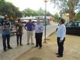 Los recintos de fiestas, a punto para la Feria de Murcia