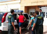 La Guardia Civil detiene a dos personas  por la sustracción de cable de cobre de alumbrado público en Miranda y El Albujón