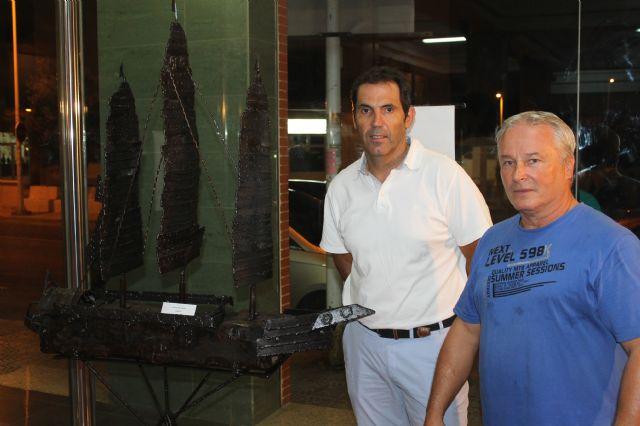 La Vida de Antonio Florenciano se puede visitar en Puerto de Mazarrón hasta el 8 de septiembre - 1, Foto 1