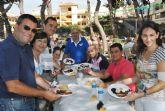 Nadie quiso perderse el 'desayuno inglés' en las fiestas de Roda