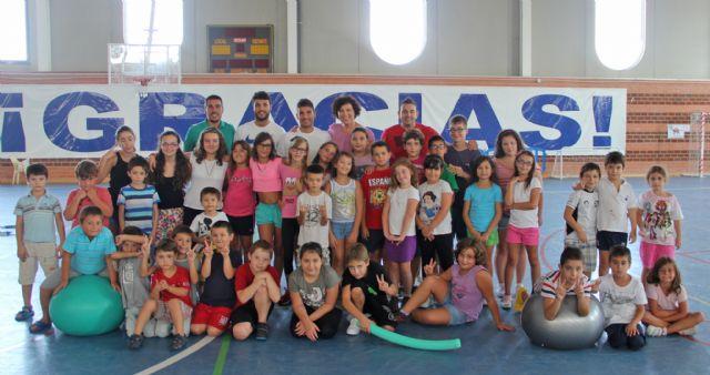 La Alcaldesa clausura la primera Escuela Deportiva de Verano de Puerto Lumbreras que ha ofrecido actividades deportivas, educativas y de ocio - 1, Foto 1