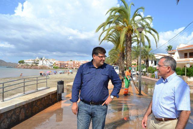 El alcalde visita las zonas más afectadas tras la tormenta de ayer - 1, Foto 1