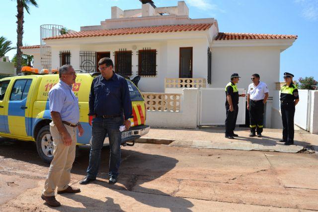 El alcalde visita las zonas más afectadas tras la tormenta de ayer - 2, Foto 2