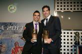 Kike, Álex y Duda reciben los premios como ´Mejores 2012-13´ que entrega la LNFS