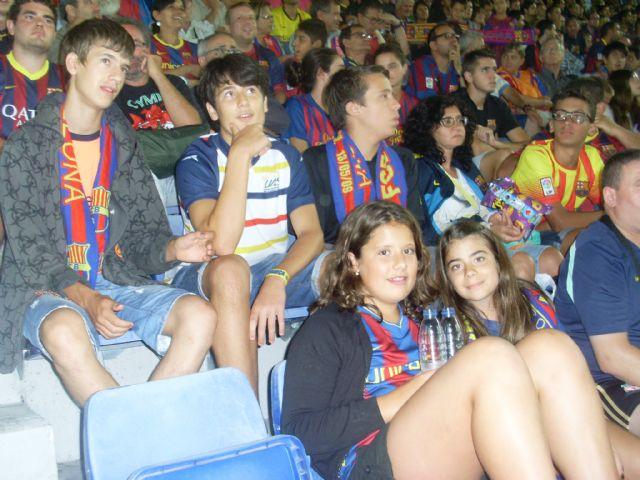 La Peña Barcelonista de Totana estuvo presente en la final de la Supercopa, Foto 2